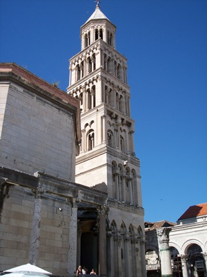 Cathedral in Split, Croatia